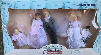 Horsman Doll House Family BRIDAL PARTY #6018-6