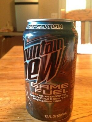 Halo 3 Mountain Dew Game Fuel Limited Edition Rare Unopened!