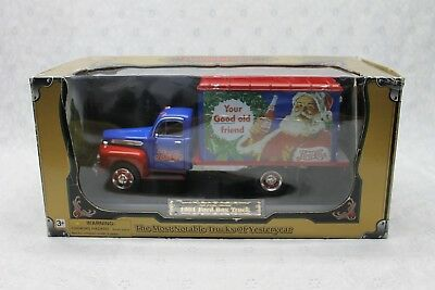 2001 Pepsi Cola 1951 Ford Metal Box Truck Santa YOUR GOOD OLD FRIEND new in Box