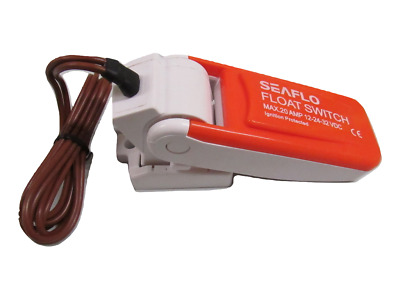 Auto Float Switch - 12V 24V 32V On Off Automatic Bilge Pump Control Level Water