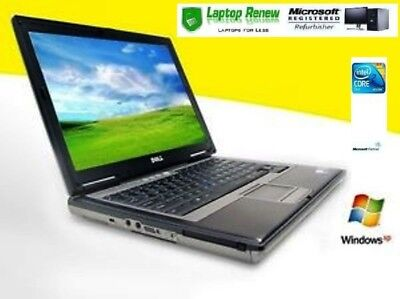 Dell Laptop Duo 1.66 Windows XP PRO 1 YR WTY RS232 Serial Com Port NEW BATTERY