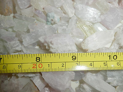 Spodumene Kunzite Hiddenite Triphane Crystal 1 to 10 g small pieces 20 gram Lot