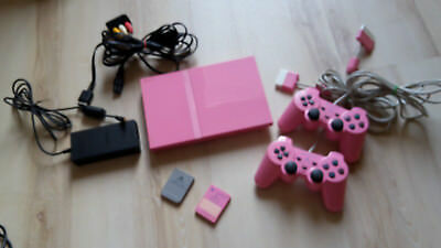 Sony PS 2 Slim special Edition rosa