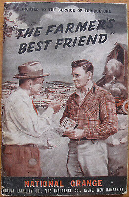 "Vintage  National Grange ""The Farmers Best Friend""   1950"