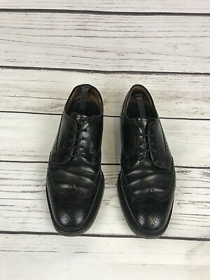 Slip Size Ons Black 5 Grade 7 Church's Made Custom Vintage In Men H q6St0FR