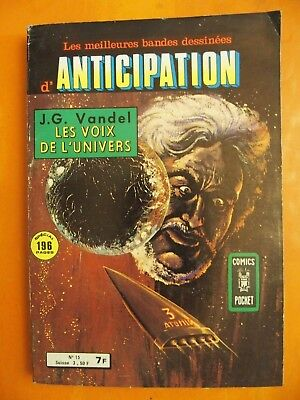 Anticipation. J.G. Vandel les voix de l'univers.N° 15. 1980.Comics Pocket Arédit