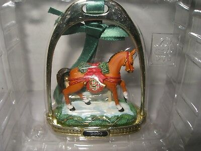 NWOB 2000 Breyer Christmas Horse Stirrup Ornament - 2nd in Series