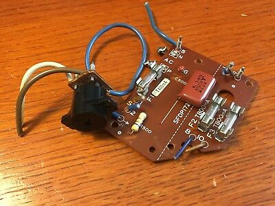 Technics SL-1700 mkII Turntable Parts - Fuse Circuit Board w/ Voltage Selector