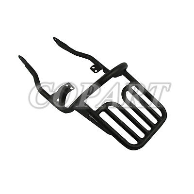 Black Rear Luggage Rack Fits Triumph Bonneville T100 SE Thruxton 900 Scrambler