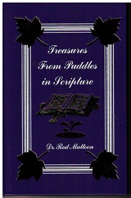Treasures From Puddles in Scripture by Dr. Rod Mattoon