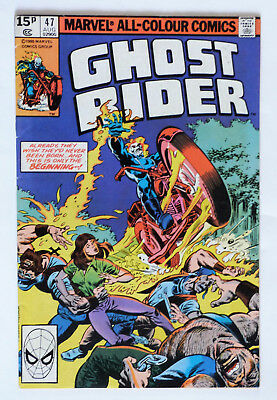 Ghost Rider #47, 1980.. VG/FN.. Please See Picture & Description.