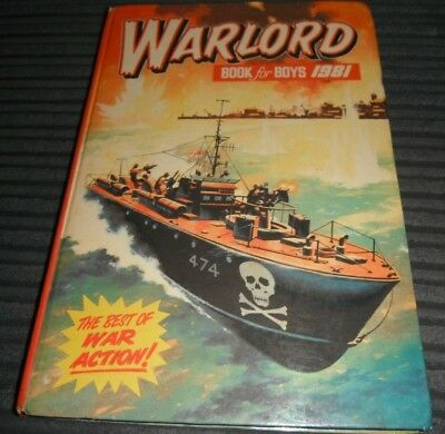 Warlord 1981 Annual War Action Union Jackson Cassidy Wolverline Kelly's Choppers