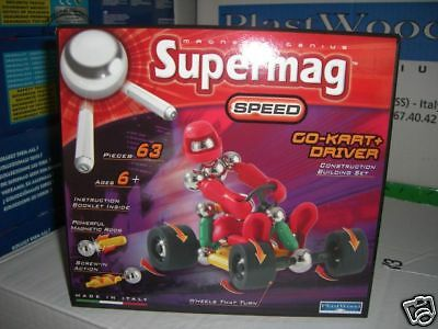 Supermag Speed Go-Kart & Driver  NEU !!