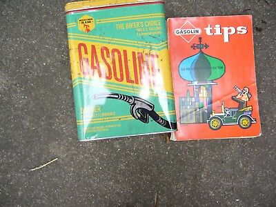 Nostalgische Blechdose/Vorratsdose 30122 - Gasoline - The Biker´S Choice - Retro