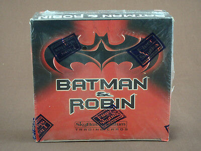 Batman & Robin Movie Trading Cards Full Box Sealed Skybox Widevision Sealed