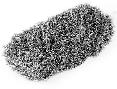"""Movo WS-S1000 Furry Outdoor Deadcat Windscreen for Shotgun Microphones up to 7"""""""