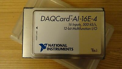 National Instruments DAQCard-AI-16E-4 Analogue Data Acquisition Card