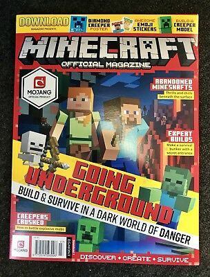 Minecraft Official Magazine #7 (Brand New Sealed Pack)