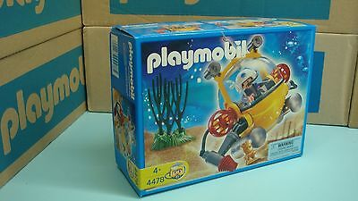 d81287bbc2a Playmobil 4478 Deep Sea Diving Bell retire made in Germany NEW in Box toy  116