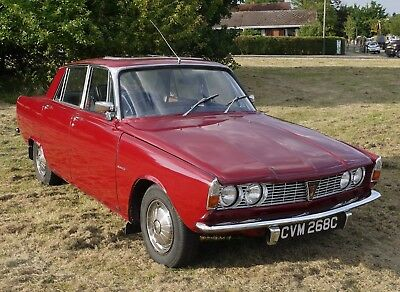 1965 Rover P6 2000, Copperleaf Red, black leather.