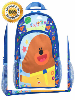 Hey Duggee Drawstring Bag Sports Bags Squirrel Children Backpack Childs Rucksack