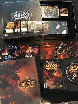 World of Warcraft: CATACLYSM - COMPLETE Collector's Edition - USED GAME KEY