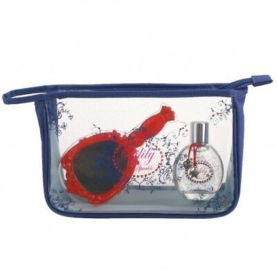 Oilily Cosmetictasche Blue Sparkle EDT 50 ml & Cosmetic Bag + Mirror