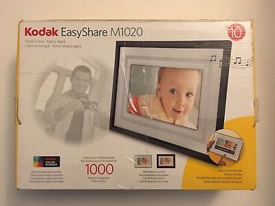 Kodak EasyShare M1020 10 inch Digital Picture Frame Free Shipping!