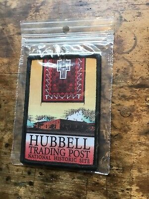 Vintage Embroidered Patch Badge Souvenir National Site Hubbell Trading Post