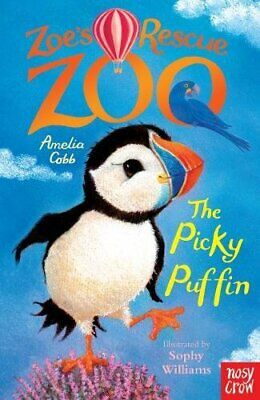 Zoe's Rescue Zoo: The Picky Puffin by Amelia Cobb Book The Cheap Fast Free Post