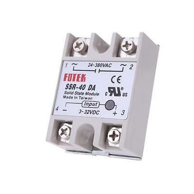 24V-380V SSR-40DA 40A Solid State Relay for PID Temperature Controller Durable Y