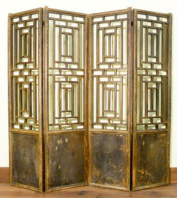 Antique Chinese Screen Panels (5129)(Temple Doors), Cunninghamia Wood, 1800-1849