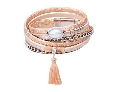 Tamaris Bracelet Phoeby Leather Gold