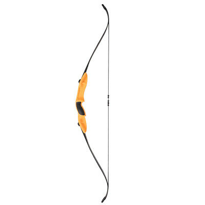 20lb Archery Hunting Takedown Game Bow Double Arrow Rest Longbow Left Right Hand