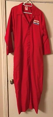 Exxon Gas Station Oil Company Utility Coverall Roughnecks on Oil Rigs New Size L