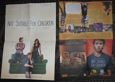 Ryan Kwanten - Not Suitable for Children - Two A3 promotional flyers