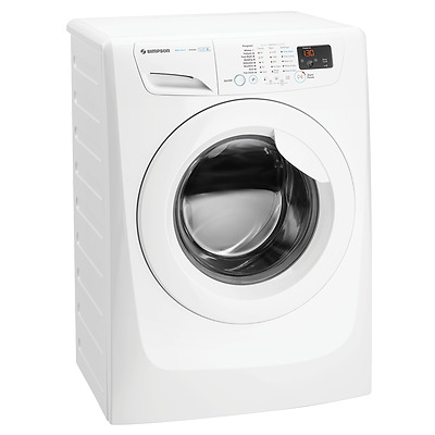 Simpson 8kg Front Load Washer with 1400RPM Spin & Time Manager - Model: SWF14843