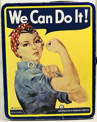 We Can Do It Lunch Box Tin Rosie The Riveter Smithsonian Institution Vintage