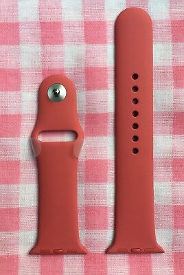 Camellia 38mm Apple Watch Sport Band (Genuine/Authentic/OEM, pink/rose) NEW