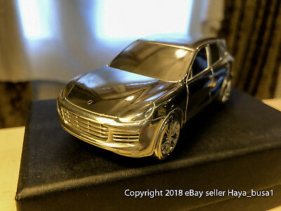 Porsche Cayenne Turbo Aluminum Paperweight Limited Edition With Box