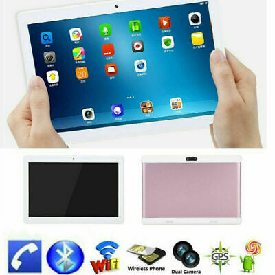10inch Android 4.4 Octa-Core 1GB+16GB Tablet PC Dual SIM Camera 3G Phone Wifi TP
