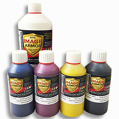 Image Armor E Series DTG printer ink set - Resolute DTG.