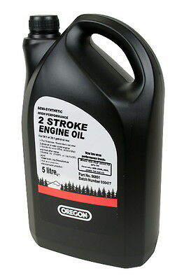 Brand New | 5 Litre | Oregon 2 Stroke Oil | Superior Quality | For All Chainsaw