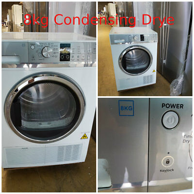 Fisher & Paykel 8kg Condensing Dryer (White) (DE8060P2) Factory Second 97925354