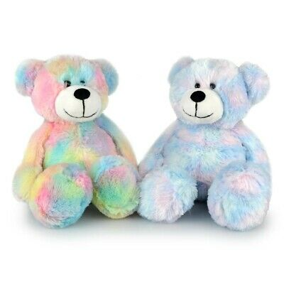 Korimco Colourful Mellow Bear Soft Cuddly Plush Toy 35cm **FREE DELIVERY**