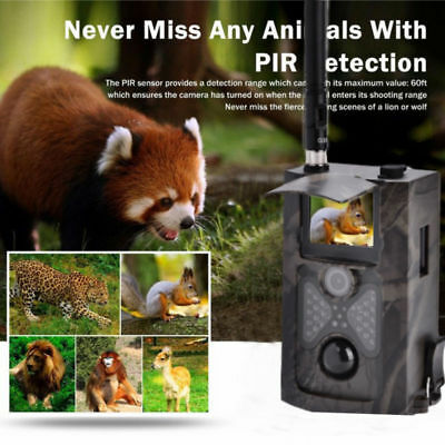 HC550M 16MP HD Scouting Infrared Trail Hunting Digital Camera 2G GSM MMS SMS TP