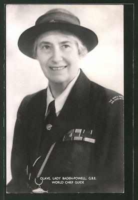 AK Olave, Lady Baden-Powell, G.B.E. World Chief Guide