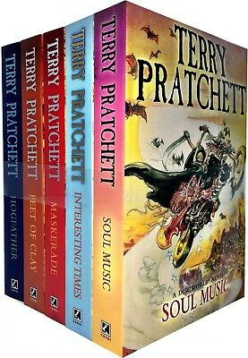 Discworld Novel Series 4 Terry Pratchett Collection 5 Books Set (16-20) Pack