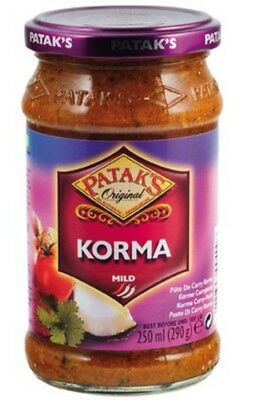 PATAK's  KORMA  CURRY PASTE 290 g