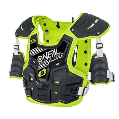 New Adult O'Neal PXR Stone Sheild Chest Protector Armour Motocross Enduro Hi-Viz